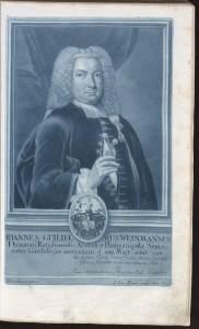 Johann Wilhelm Weinmann, 1735