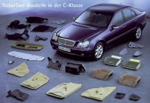 Naturfaserteile im Automobilbau