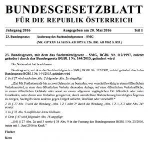 Bundesgestzblatt